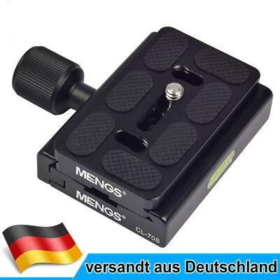 CL-70S Klemme + Schnellwechselplatte Für DSLR Kamera Stativkopf mit Arca-Swiss