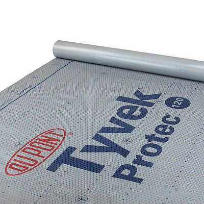 DuPont Tyvek Protec 120 Roof Underlayment - 10 Square - 4' x 250'
