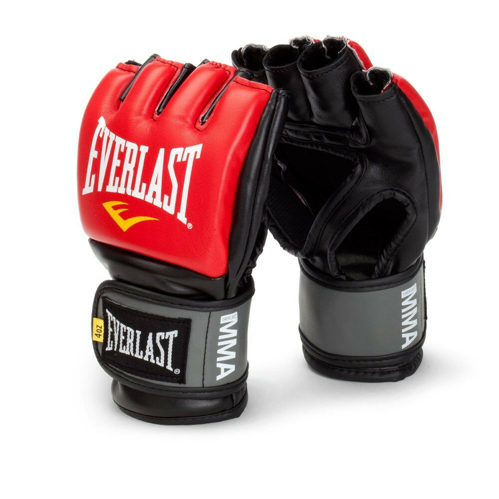 Everlast Pro Style Mma Grappling Gloves Large Extra Boxin...