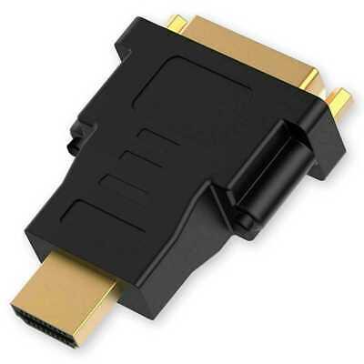Adaptador HDMI a DVI-I M/H Conversor Señal Video Digital para Monitor PC...