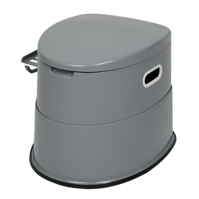New 5L Portable Seat Toilet Home Potty Commode Travel Camping RV Accessories