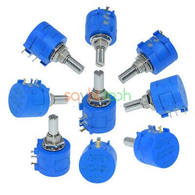 3590s-2-103l 10k Ohm Wirewound Precision Pot 10 Turn Rotary Potentiometer