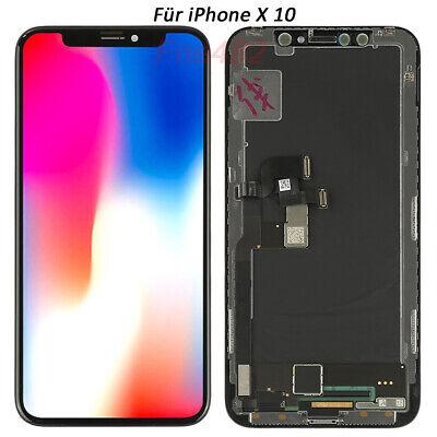 Display Für iPhone X 10 LCD RETINA Touch Screen Glas Ersatz Bildschirm Schwarz gebraucht kaufen  Kehl