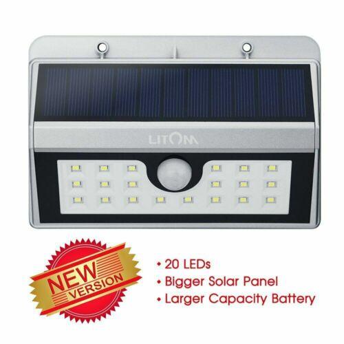 20led solar powered outdoor motion sensor light