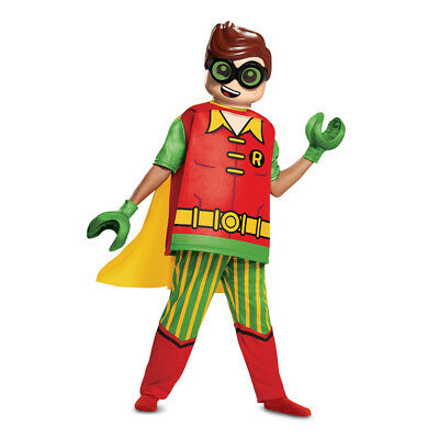 Lego Batman Halloween-kostüm (Boys LEGO Batman Robin Deluxe Halloween Costume)