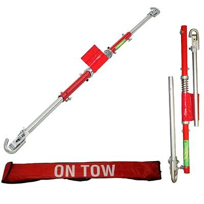 2 Ton Tonne Recovery Tow Bar, Towing Pole C/W Spring Loaded Damper