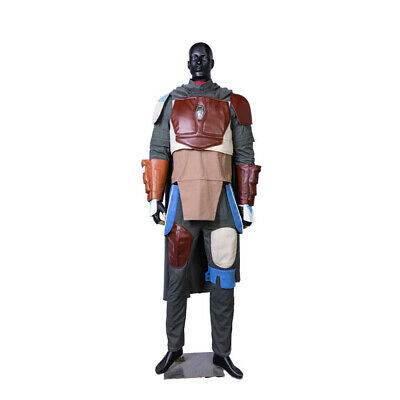 Star Wars Replica Costumes (Mandalorian Costume Star Wars Cosplay Prop PVC Helmet Mask Replica Halloween)