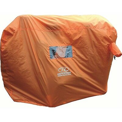 2-3 Person Emergency Survival Shelter - Highlander Hi Vis Waterproof Camping