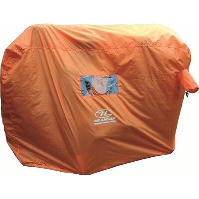 2-3 Person Emergency Survival Shelter - Highlander Hi Vis Waterproof Camping