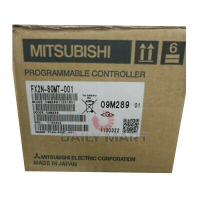 New In Box Mitsubishi Fx2n-80mt-001 Programmable Controller