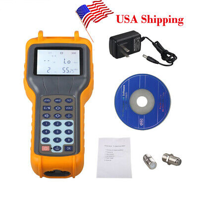 RY S110 CATV Cable TV Handle Digital Signal Level Meter DB Tester 47MHz ~ 870MHz
