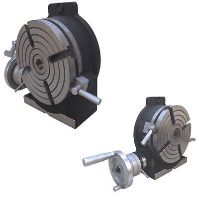Horizontal Vertical Rotary Table 8 Inch Diameter Milling Drilling Vise Machine