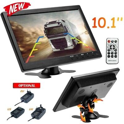 "10.1"" 1080P VGA HDMI AV RCA LED CCTV Car Monitor Display Video PC Screen"