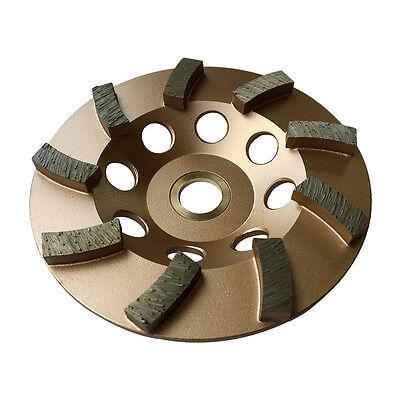 4.5 Concrete Grinding Cup Wheels 9 Diamond Abrasive Seg 78-58 Arbor