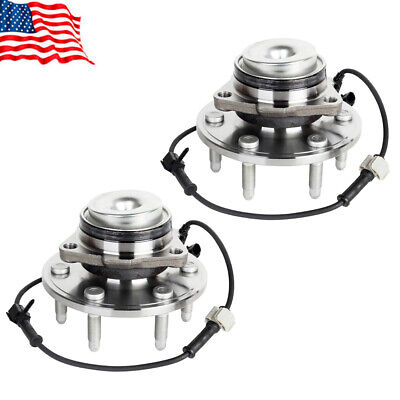 2WD Set of 2 Front Wheel Hub & Bearing Assembly For Chevrolet GMC 6 LUG 515054