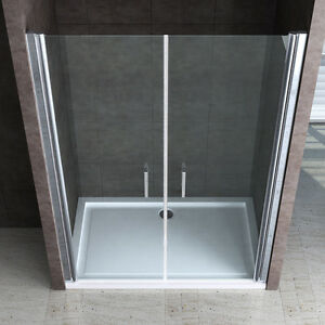 paroi pare douche porte de douche cabine de douche verre de s curit teramo22 ebay. Black Bedroom Furniture Sets. Home Design Ideas