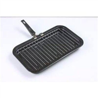 Falcon Grill Pan Detachable Handle - Black, 31cm - Black Enamel Mini - Falcon Grill