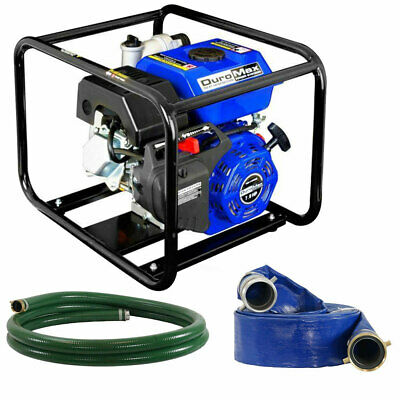 Duromax Xp650wp-lhk 7 Hp 220 Gpm 3600 Rpm 3 Gas Engine Water Pump Kit