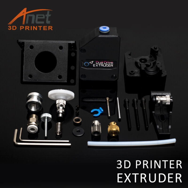 High Performance BMG Extruder Cloned Extruder Dual Drive MK8 Kits For 3D Printer