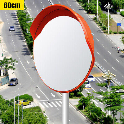 60cm Outdoor Wide Angle Security Convex Mirror Road Traffic Driveway Safety