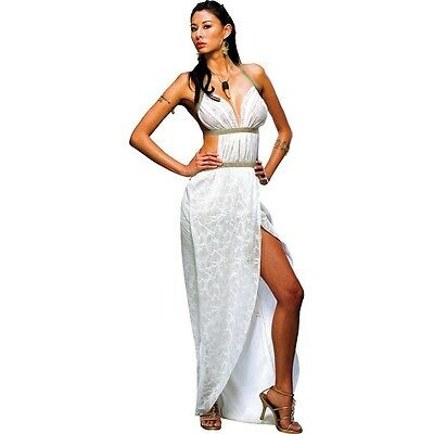 NIP - RUBIE'S 'QUEEN GORGO from 300' COSTUME  Size Medium White / Gold