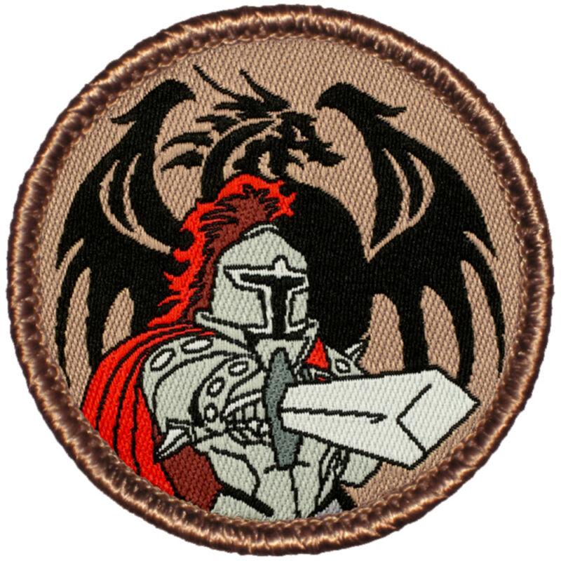 Awesome Woven Boy Scout Patrol Patch! - #703 The Dragon Slayer Patrol!