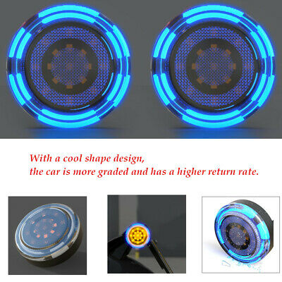 2PCS LED ABS Plastic Auxiliary Light Indicator Turn Signal Light for Motorcyle