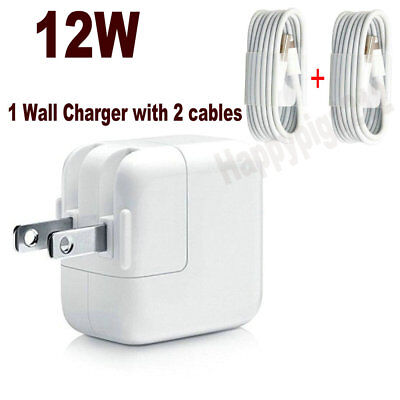 12W USB Wall Charger Power Adapter for Apple iPhone/iPad/iPod 12W 5.2V 2.4A
