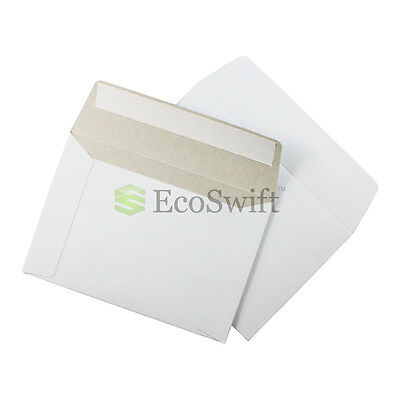 50 - 6.5 X 4.5 Self Seal Rigid Photo Shipping Flats Cardboard Envelope Mailers