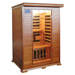 Taavi Deluxe 2 Person Red Cedar Infrared Home Sauna Penrith Area Preview