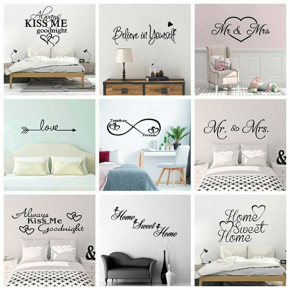 Home Decoration - Wall Sticker Art Style Vinyl For Home Decoration Accessories Living Room Bedroom