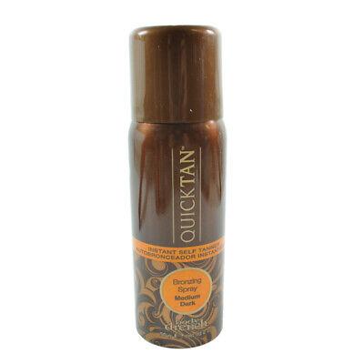Bronze Instant Self Tanning (Body Drench Quick Tan Instant self tanner Bronzing Spray Medium Dark  2 oz.  )