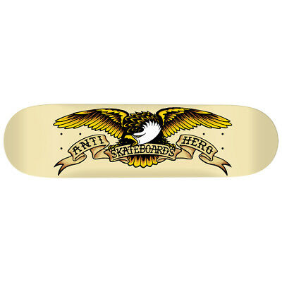 "Anti Hero Skateboard Deck Classic Eagle 8.62"" Antihero FREE GRIP"
