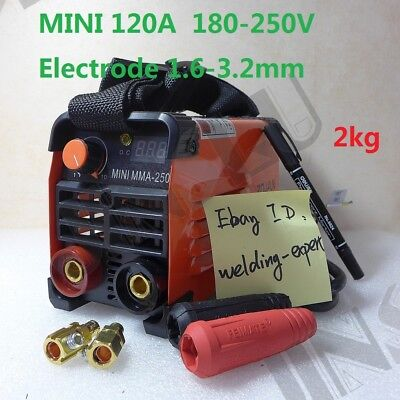 Express Ship 120a 180-250v Compact Mini Mma Welder Inverter Arc Welding Machine