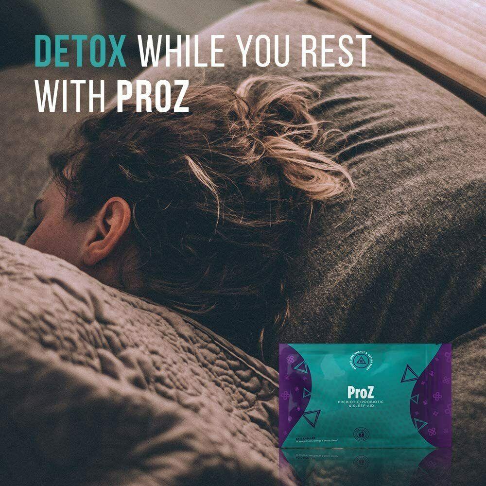 TLC ProZ Prebiotic/Probiotic Sleep Aid That Detoxes & Helps