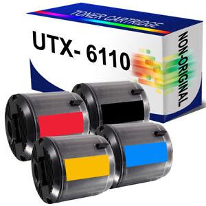 4 Toner Cartridge For Xerox Phaser 6110 6110N 6110MFP 6110VB 6110VN