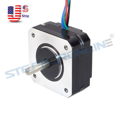 Short Body Nema 17 Stepper Motor 16ncm22.6oz.in 1a 20mm 4-wire 17hs08-1004s