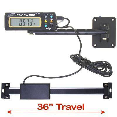 Igaging Digital Readout Ez-view Dro Plus 36 Ac Capable Remote X-lg Lcd Display