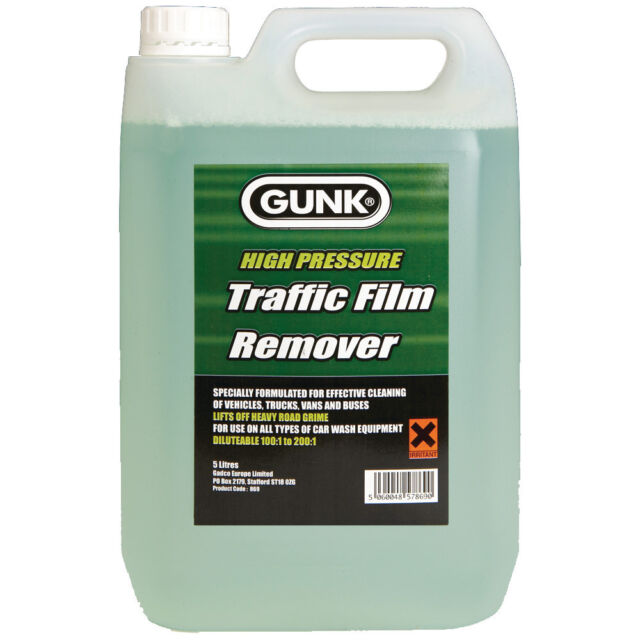 Gunk High Pressure Car Traffic Film Remover Degreaser Wash Cleaning 5 Litre