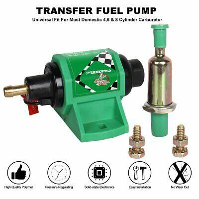12Volt Universal Low Pressure 4-7PSI Diesel Gasoline Electric Fuel Pump 3/8 in