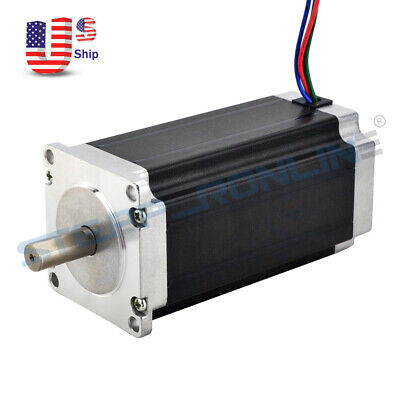 High Torque Nema 23 Stepper Motor 3nm425oz.in 113mm 4.2a 4-lead 10mm Shaft Cnc