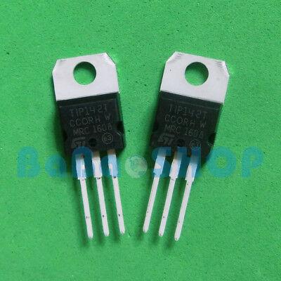 10pcs 500pcs Tip142t Tip147t Npn Pnp Darlington Transistors To-220