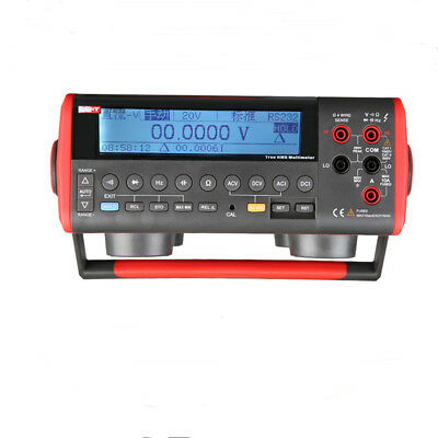 Uni-t Ut805a Digital Bench Multimeter High-accuracy 0.015 True Rms Usb Rs232