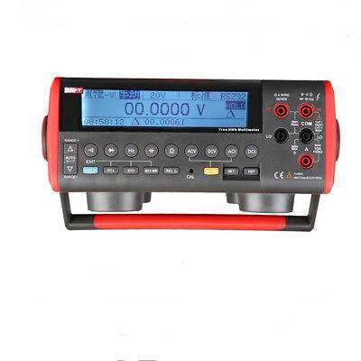 Uni-t Ut805a Digital Bench Multimeter High-accuracy 0.015 True Rms Usb Rs232