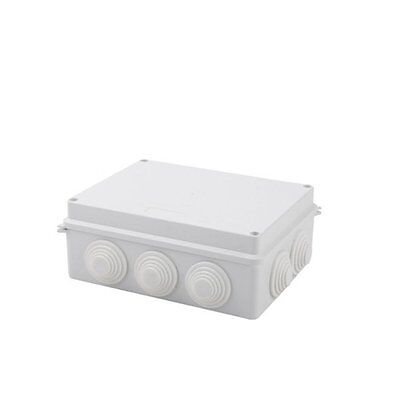 Ip65 Sealed Waterproof Junction Box Plastic Electric Enclosure Case 200x155x80mm