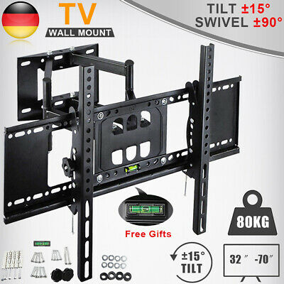 """Hama Curved TV Halter Wand-Halterung 32/"""" bis 90/"""" Zoll 50kg QLED LED LCD OLED TV"""