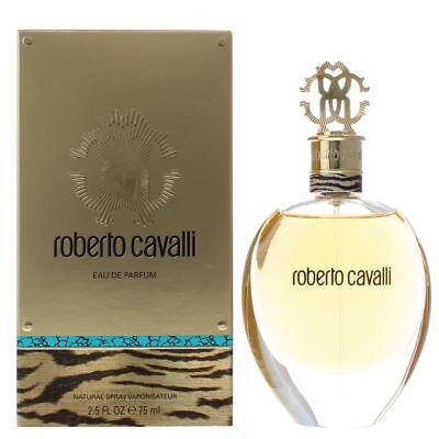Roberto Cavalli Eau de Parfum 75ml Spray For Her - Ladies Women's EDP New.