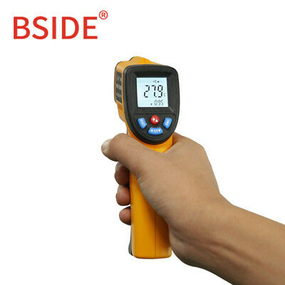 Bside Gm320 Non-contact Ir Infrared Thermometer Digital Temperature Meter Cf