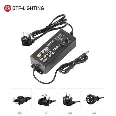 Adjustable Ac To Dc 3v-12v 3v-24v Switching Universal Adapter Power Supply