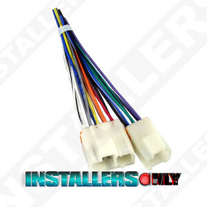 240sx wiring harness aftermarket car stereo radio wiring harness 1763 wire adapter plug for nissan fits 240sx